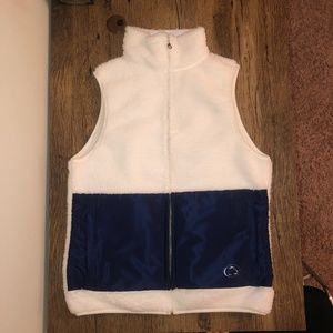 Penn State fleece vest